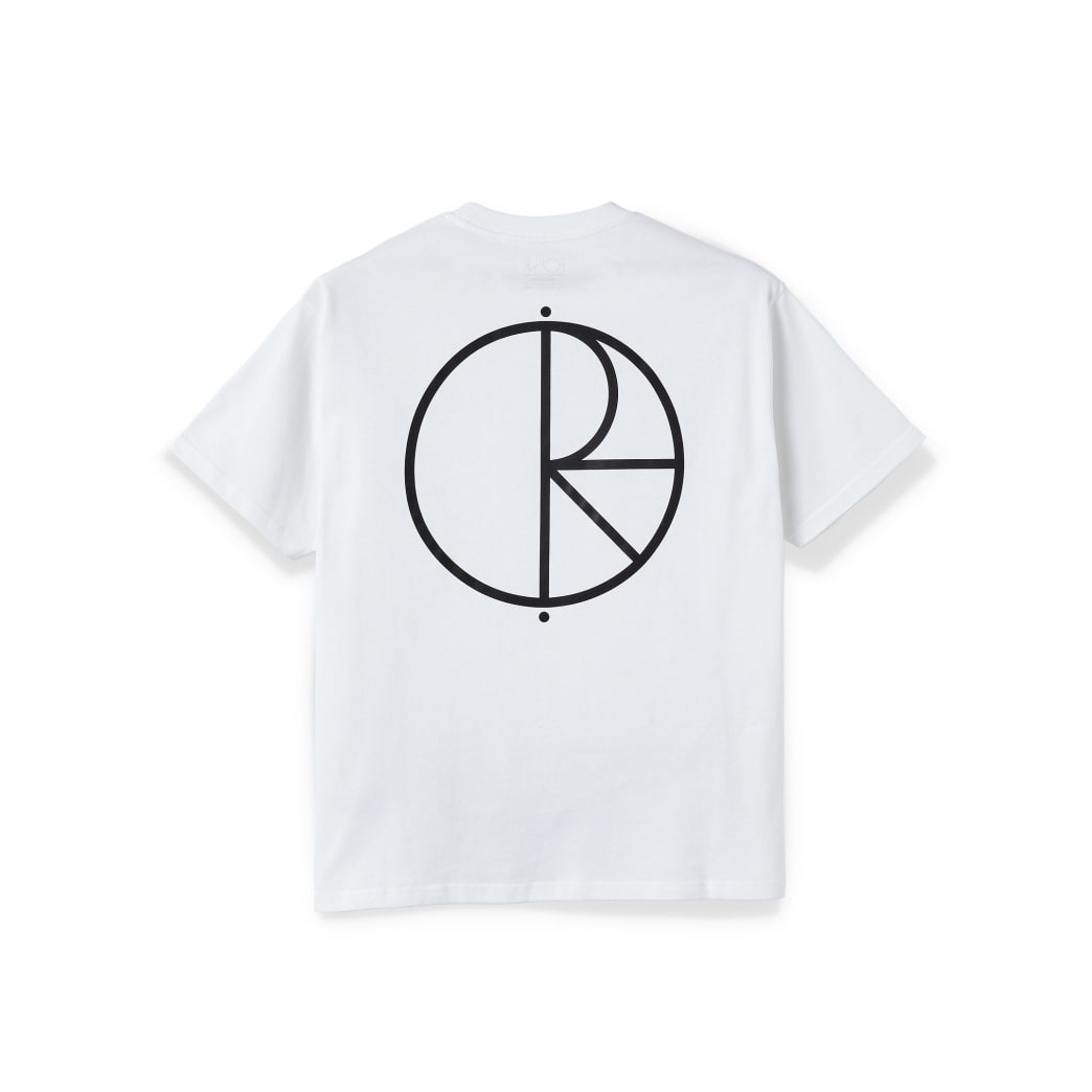 Polar Skate Co Stroke Logo T-Shirt - White | T-Shirt by Polar Skate Co 1