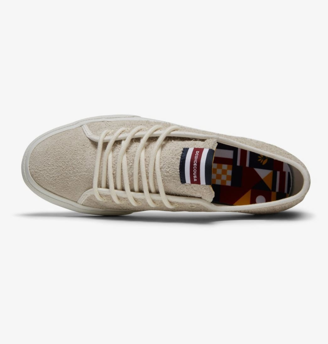 DC Manual x Magenta Skate Shoes - Light Grey   Shoes by DC Shoes 4
