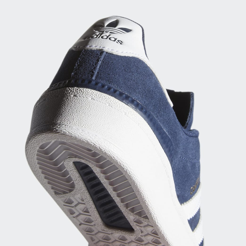 Adidas Campus ADV Shoes - Collegiate Navy/Cloud White/Cloud White | Shoes by adidas Skateboarding 8