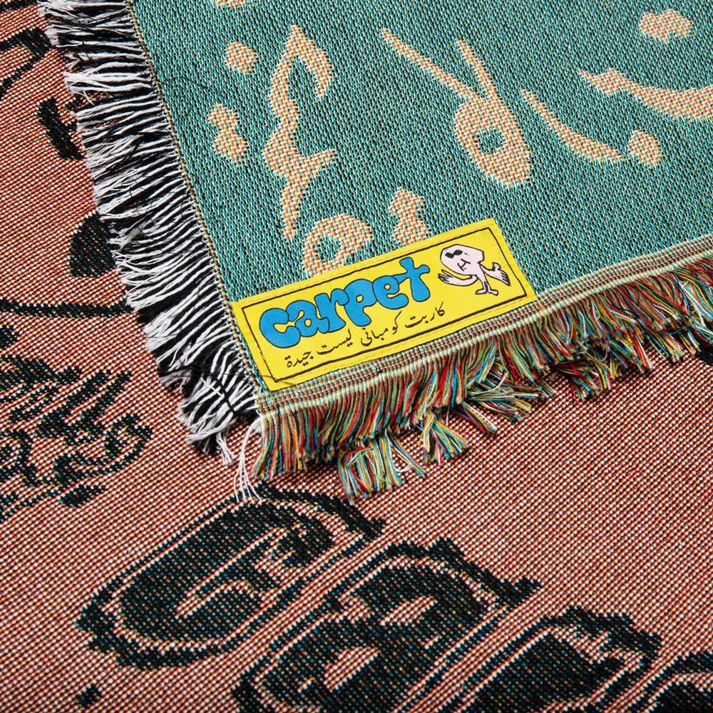 Carpet Company Woven Blanket Black/Brown | Blanket by Carpet Company 3