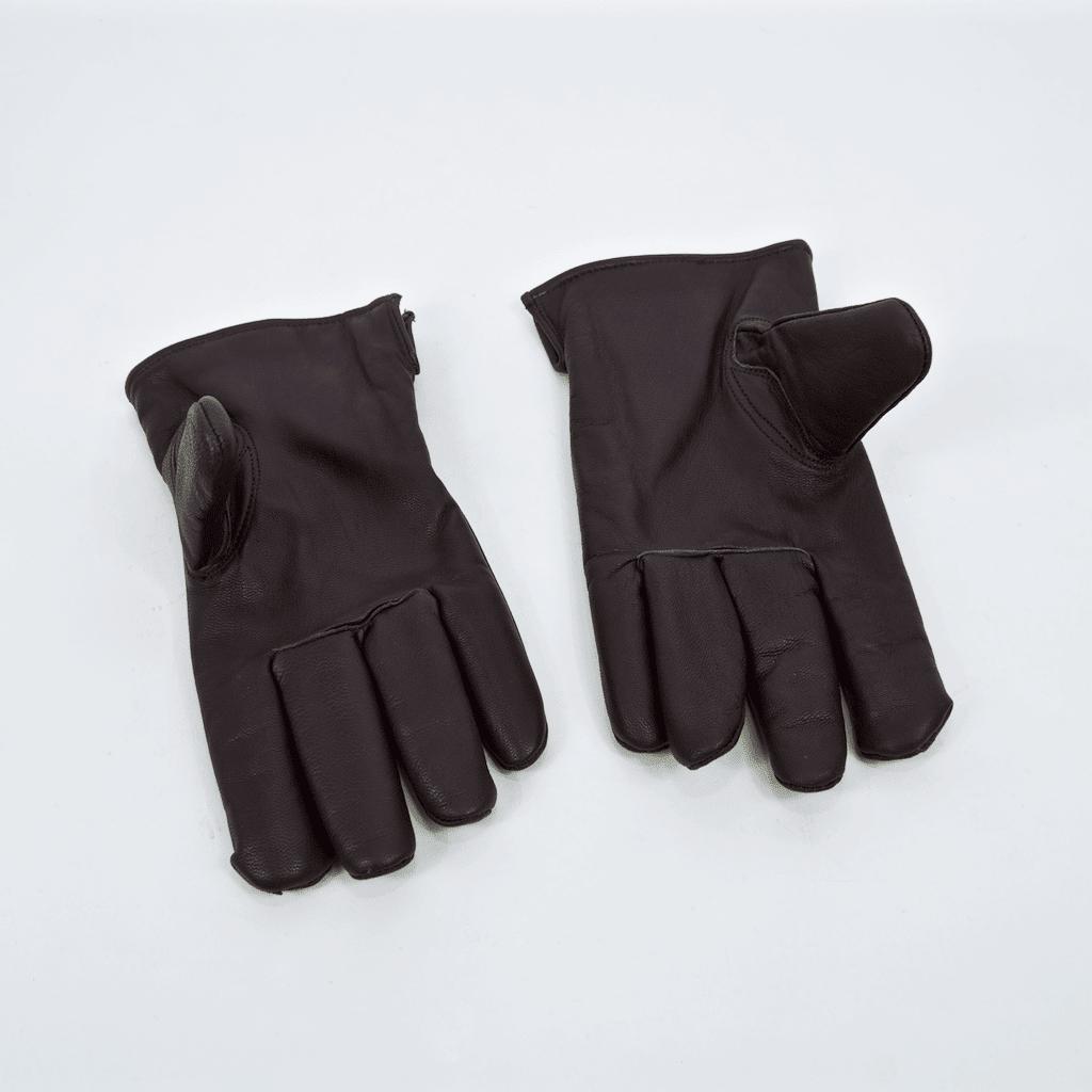 Dickies - Memphis Leather Gloves - Dark Brown | Gloves by Dickies 2
