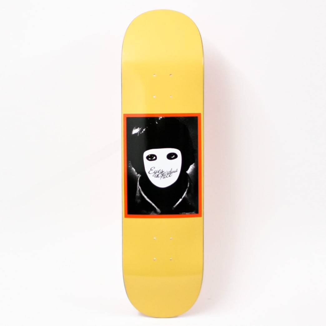 Hockey No Face Yellow Deck (Various Sizes) | Deck by Hockey Skateboards 1