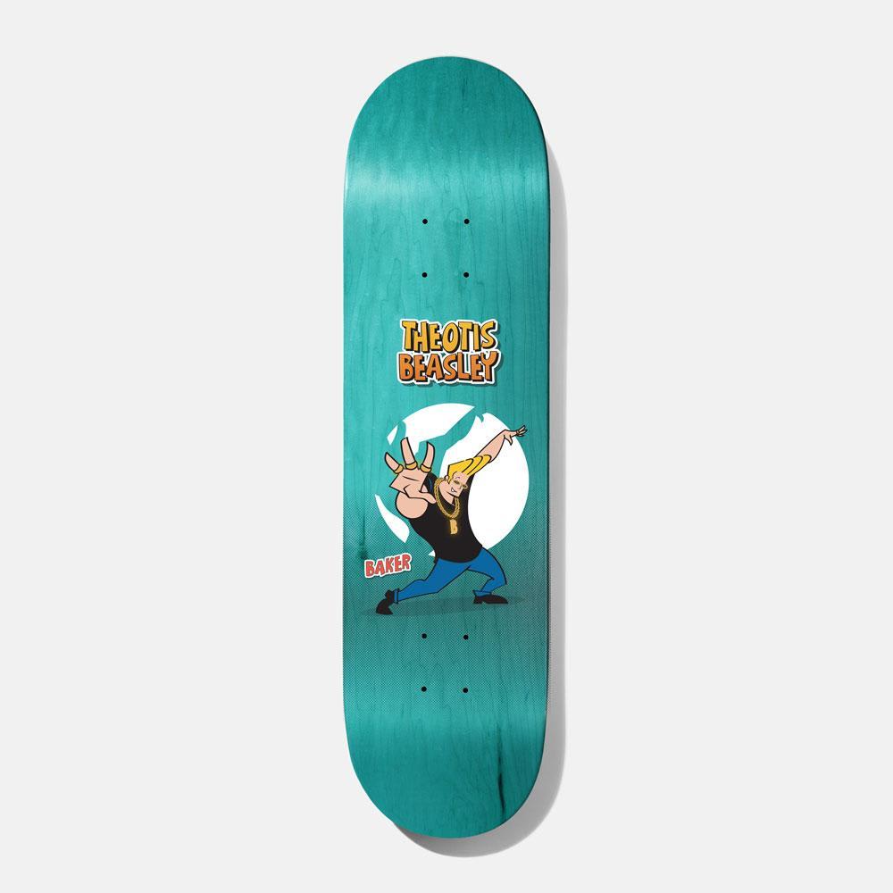 "Baker Skateboards Theotis One Man Army Skateboard Deck - 8.25"" | Deck by Baker Skateboards 1"
