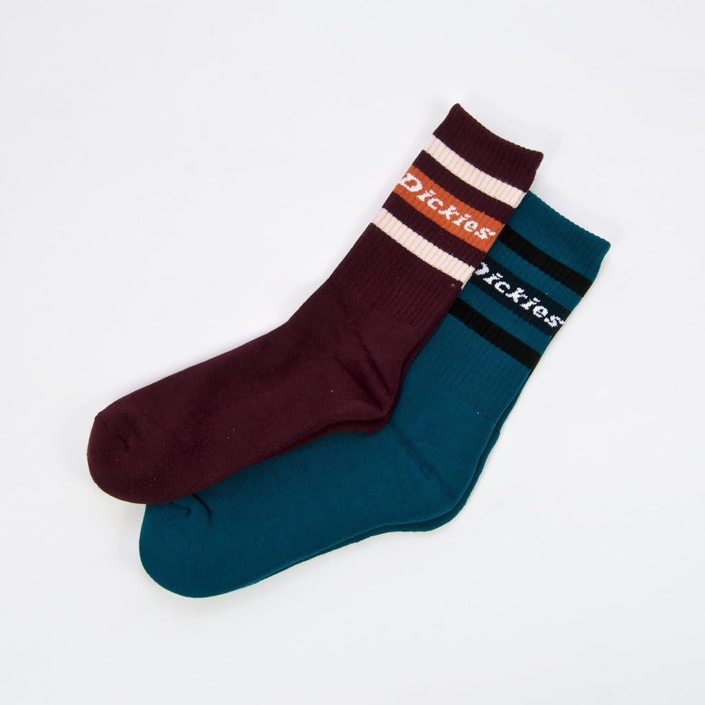 Dickies - Madison Heights Socks Pack (2 Pairs) | Socks by Dickies 1