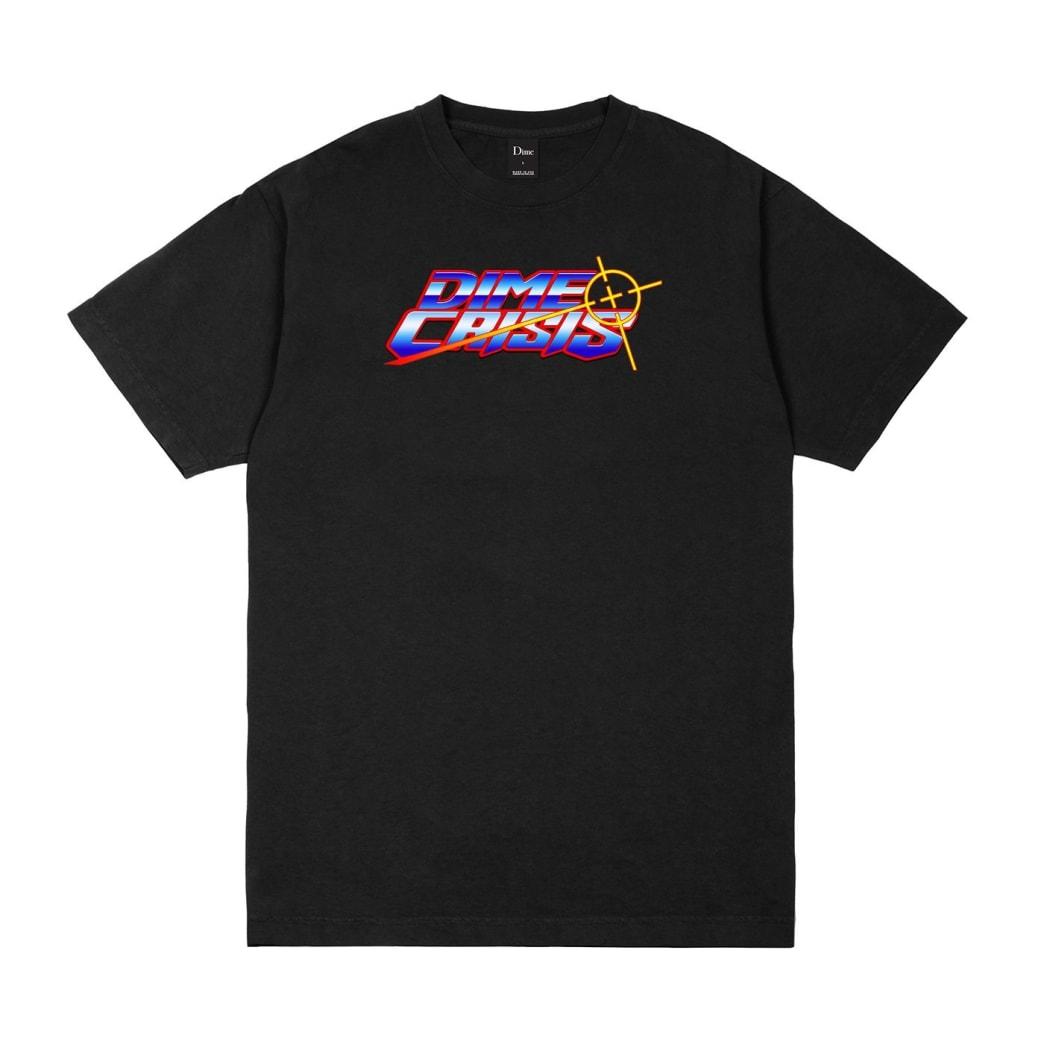 Dime Crisis T-Shirt - Black | T-Shirt by Dime MTL 1