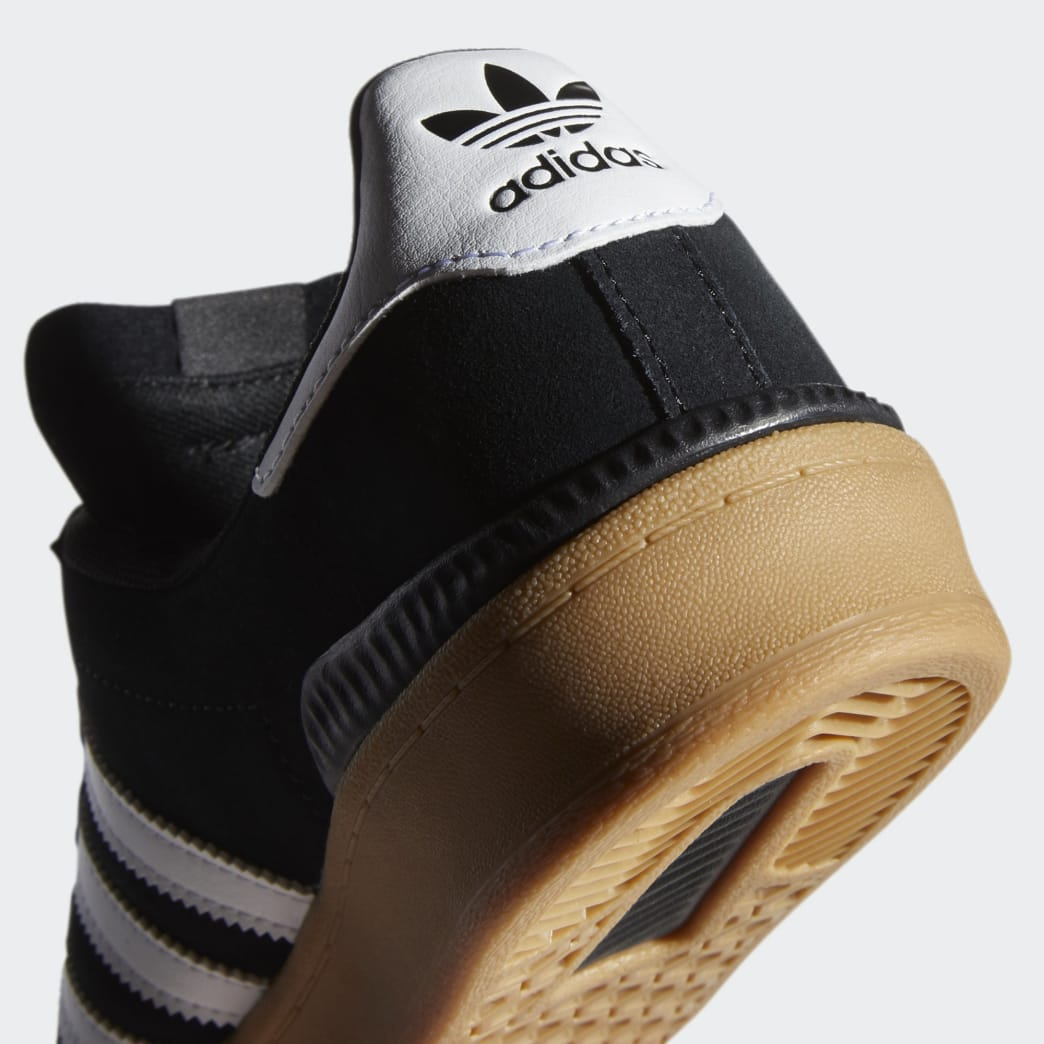 Adidas Campus ADV Shoes - Core Black/Cloud White/Gum 4 | Shoes by adidas Skateboarding 8