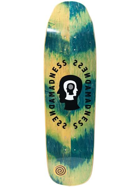Madness Split Personality Green Impact Light 9.0 Skateboard Deck | Deck by Madness Skateboards 1