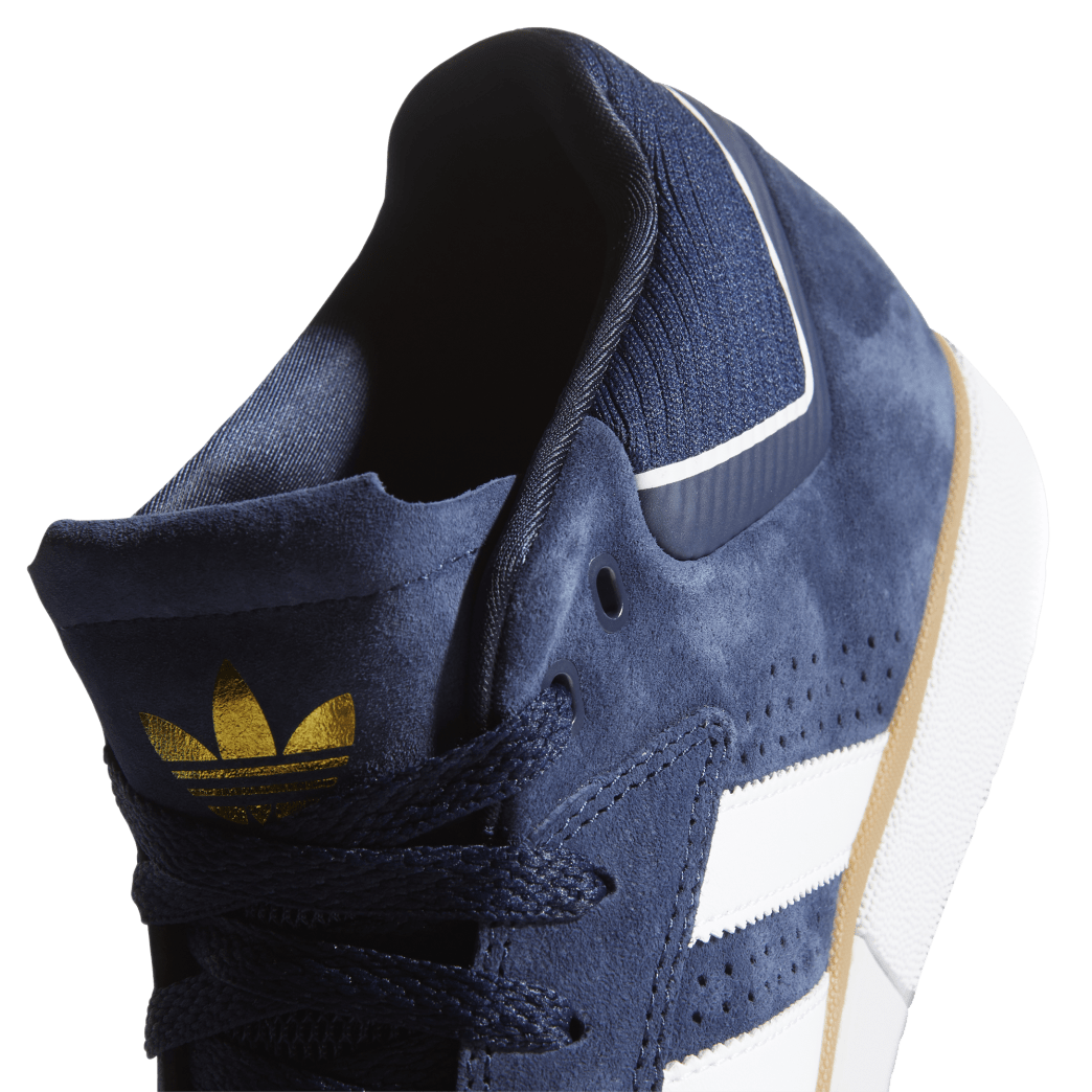 adidas Tyshawn Jones Skate Shoes - Collegiate Navy / FTWR White / Gum 4 | Shoes by adidas Skateboarding 8