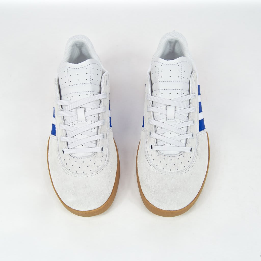 Adidas Skateboarding - City Cup Shoes - Crystal White / Blue / Gum 4 | Shoes by adidas Skateboarding 4