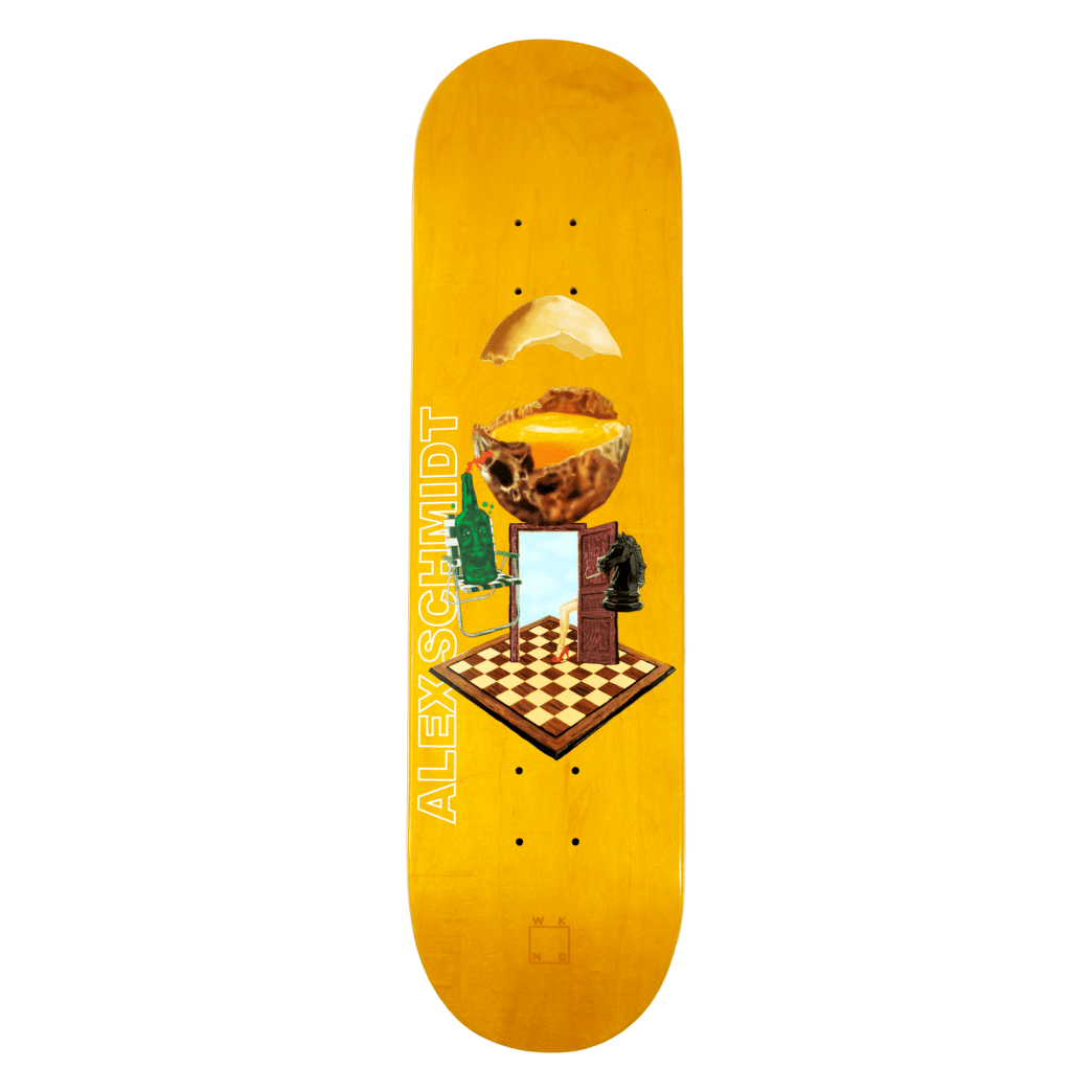 WKND - With A Sunny Side Of Schmidt - 8.25"