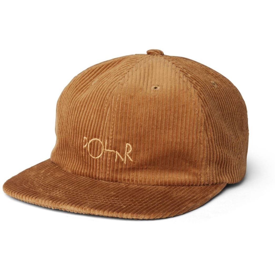 Polar Skate Co Corduroy Cap - Tan | Cap by Polar Skate Co 1