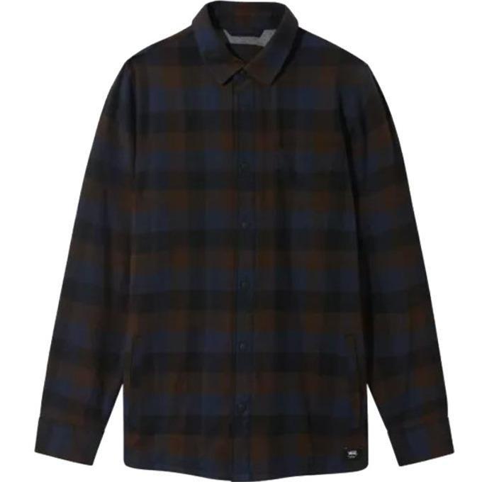 Vans Flannel Shirt Lined Olson Black-Demitasse | Shirt by Vans 1