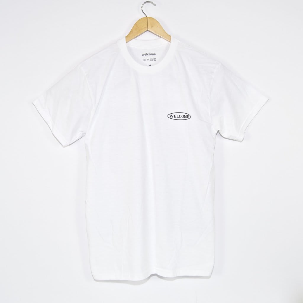 Welcome Skate Store - No Drama T-Shirt - White | T-Shirt by Welcome Skate Store 2