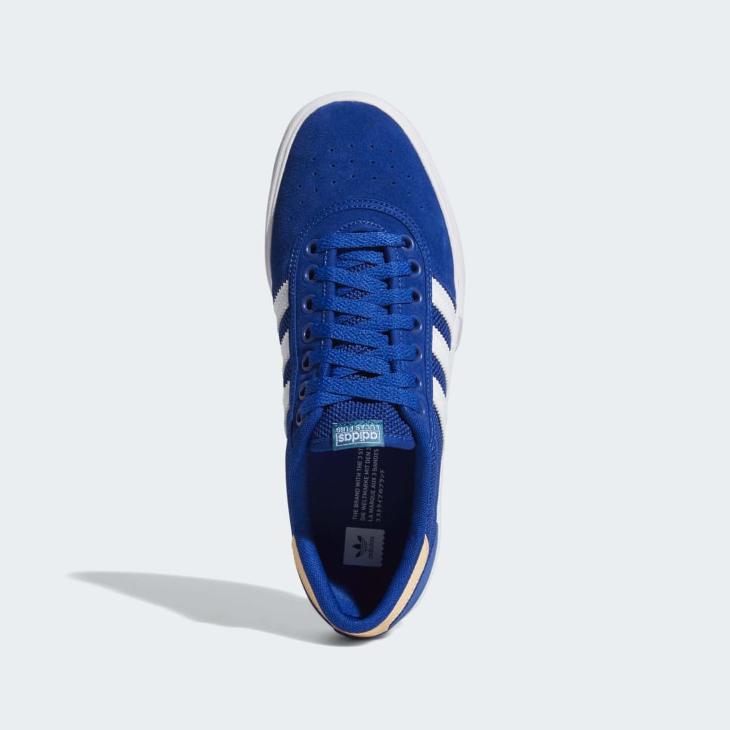 Adidas Lucas Premiere Shoes - Collegiate Royal/Cloud White/Glow Orange | Shoes by adidas Skateboarding 2