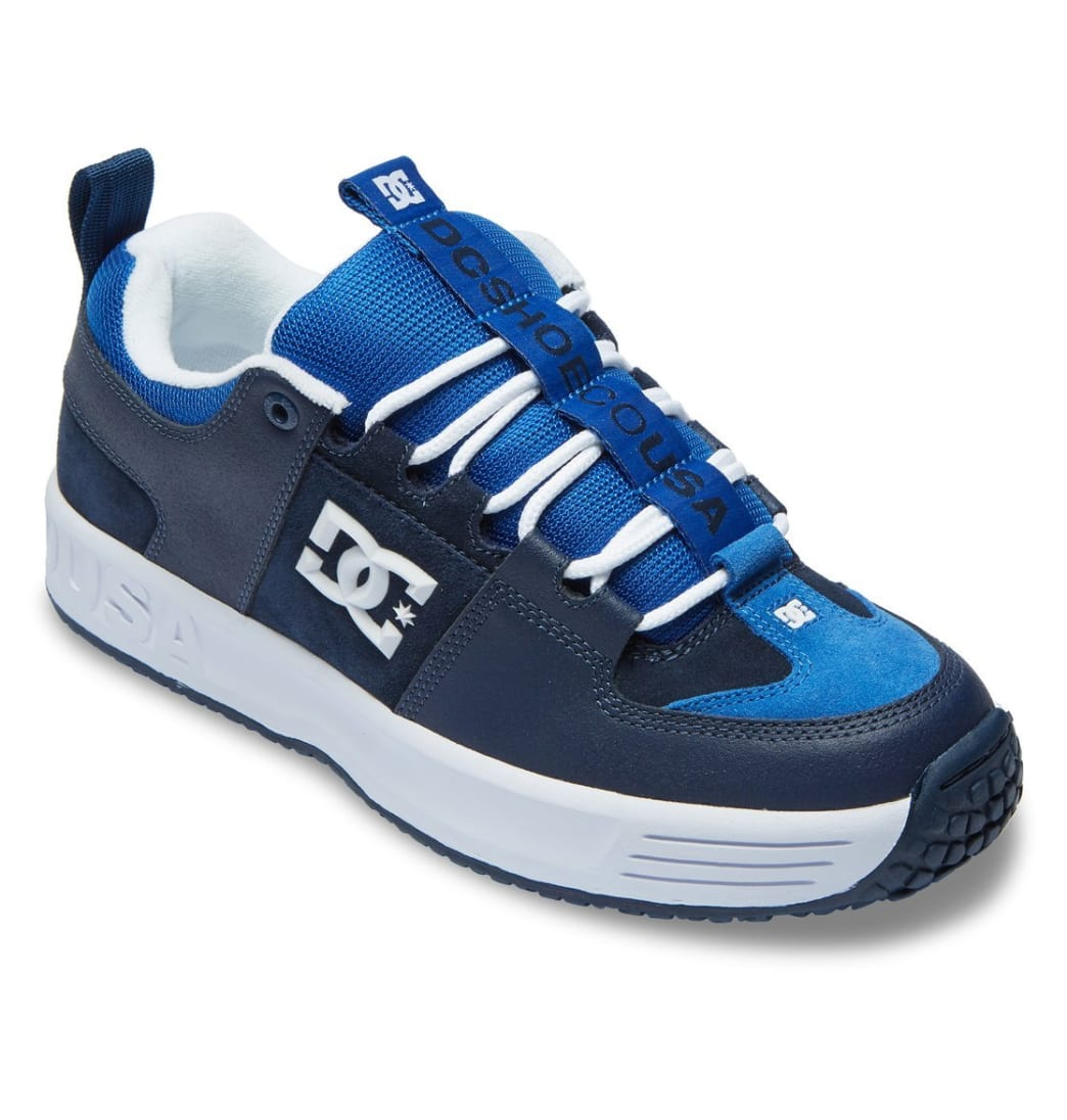 DC Shoes Lynx OG Skateboarding Shoe - Navy - Limited Edition | Shoes by DC Shoes 2