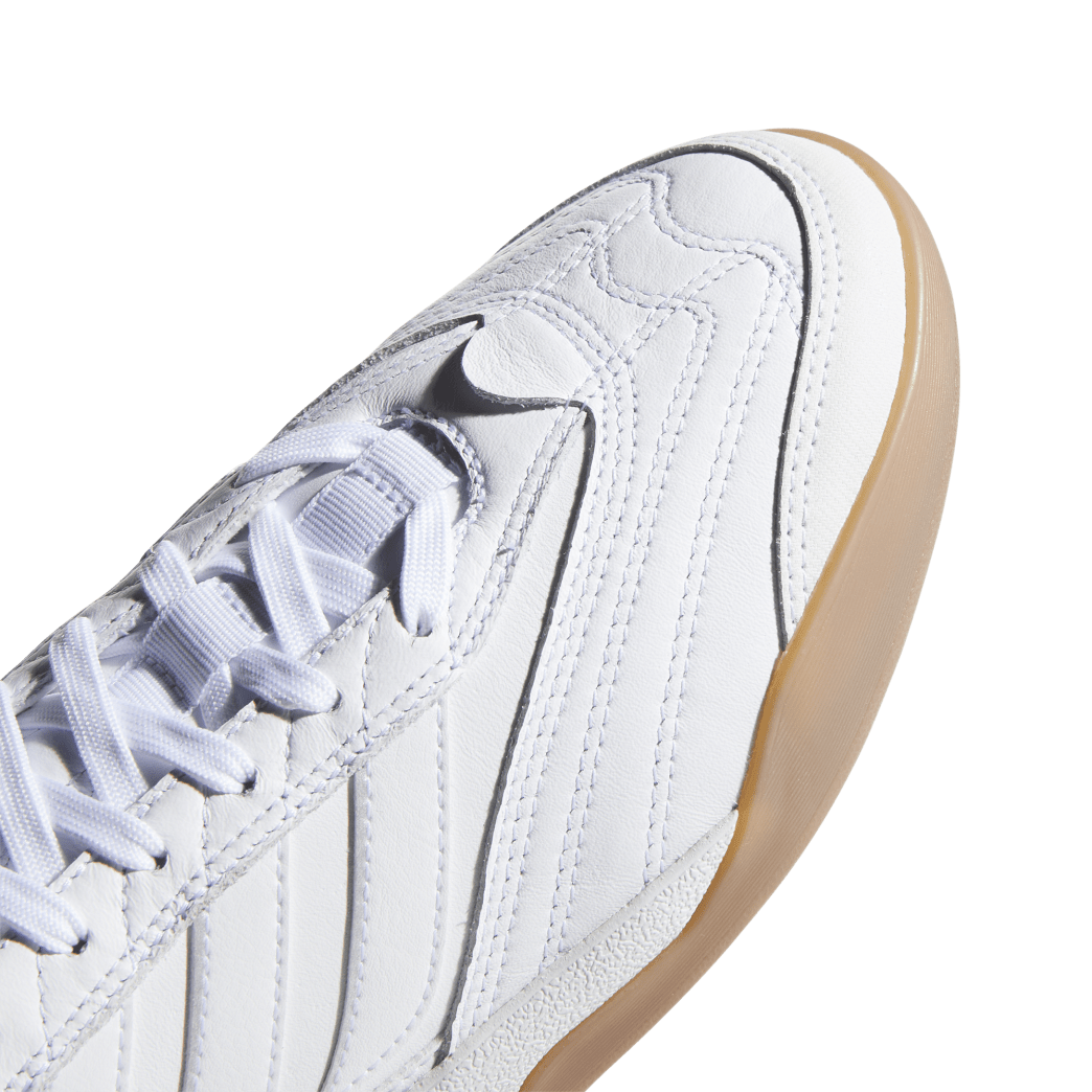 adidas Copa Nationale Skate Shoe - FTWR White / Silver Met / Gum | Shoes by adidas Skateboarding 8