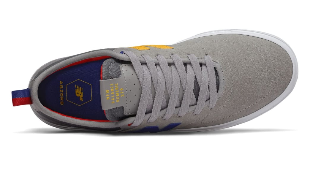 New Balance Numeric 379 Skate Shoe - Grey / Red / Blue   Shoes by New Balance 3