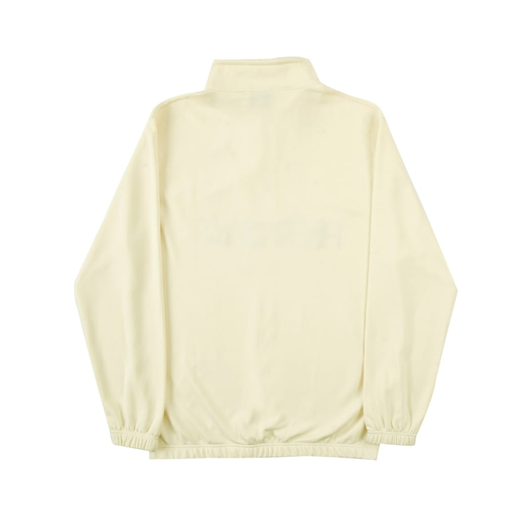Helas Summer Jam Quarter Zip Pastel Yellow | Sweatshirt by Helas 6