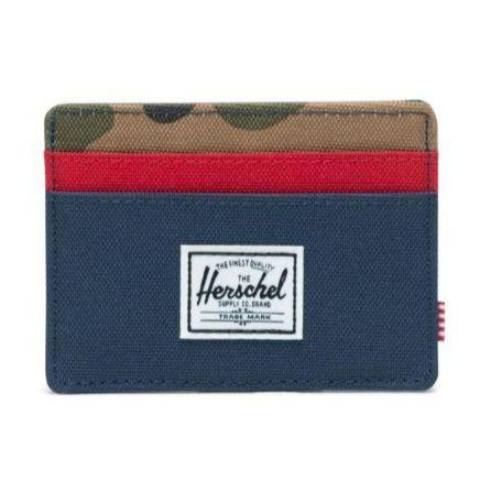 Herschel Charlie Wallet Navy/Camo | Wallet by Herschel Supply Co. 1