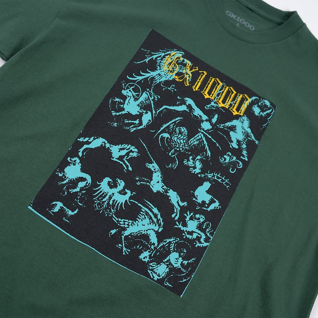 GX1000 Forced Entry T-Shirt - Forest Green | T-Shirt by GX1000 2