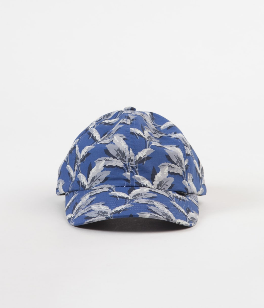 THE QUIET LIFE PALM POLO HAT - BLUE   Baseball Cap by The Quiet Life 1