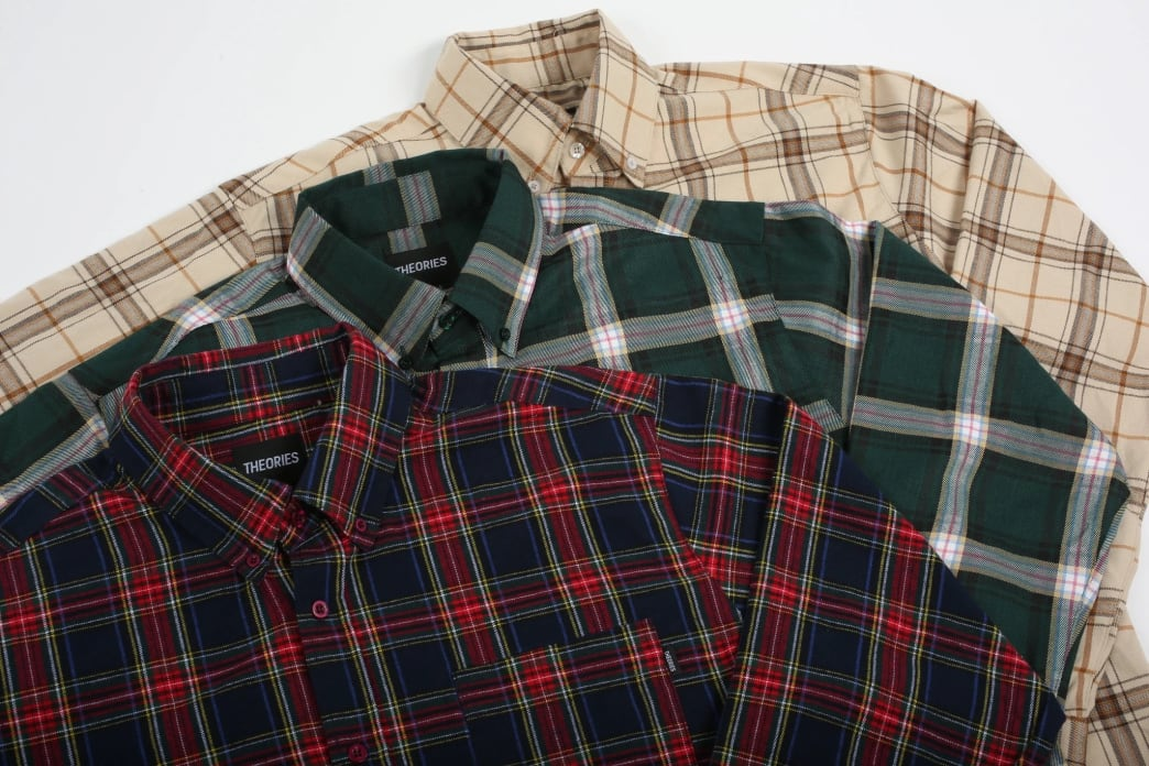 Theories Brand- Tartan Flannel Forest | Shirt by Theories of Atlantis 4