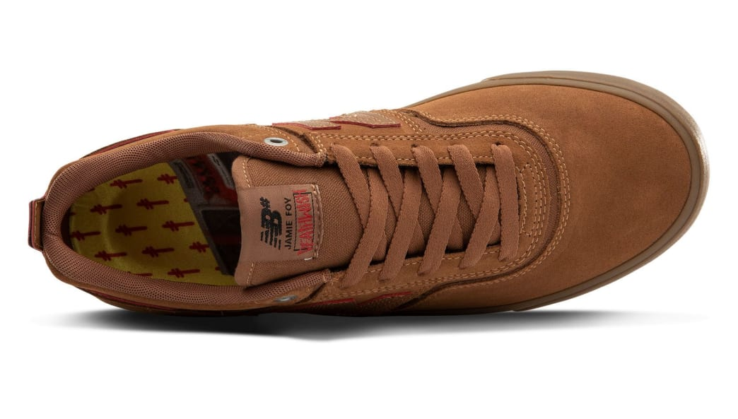 New Balance Numeric 306 x Deathwish Skate Shoes - Cinnamon / Brown | Shoes by New Balance 3