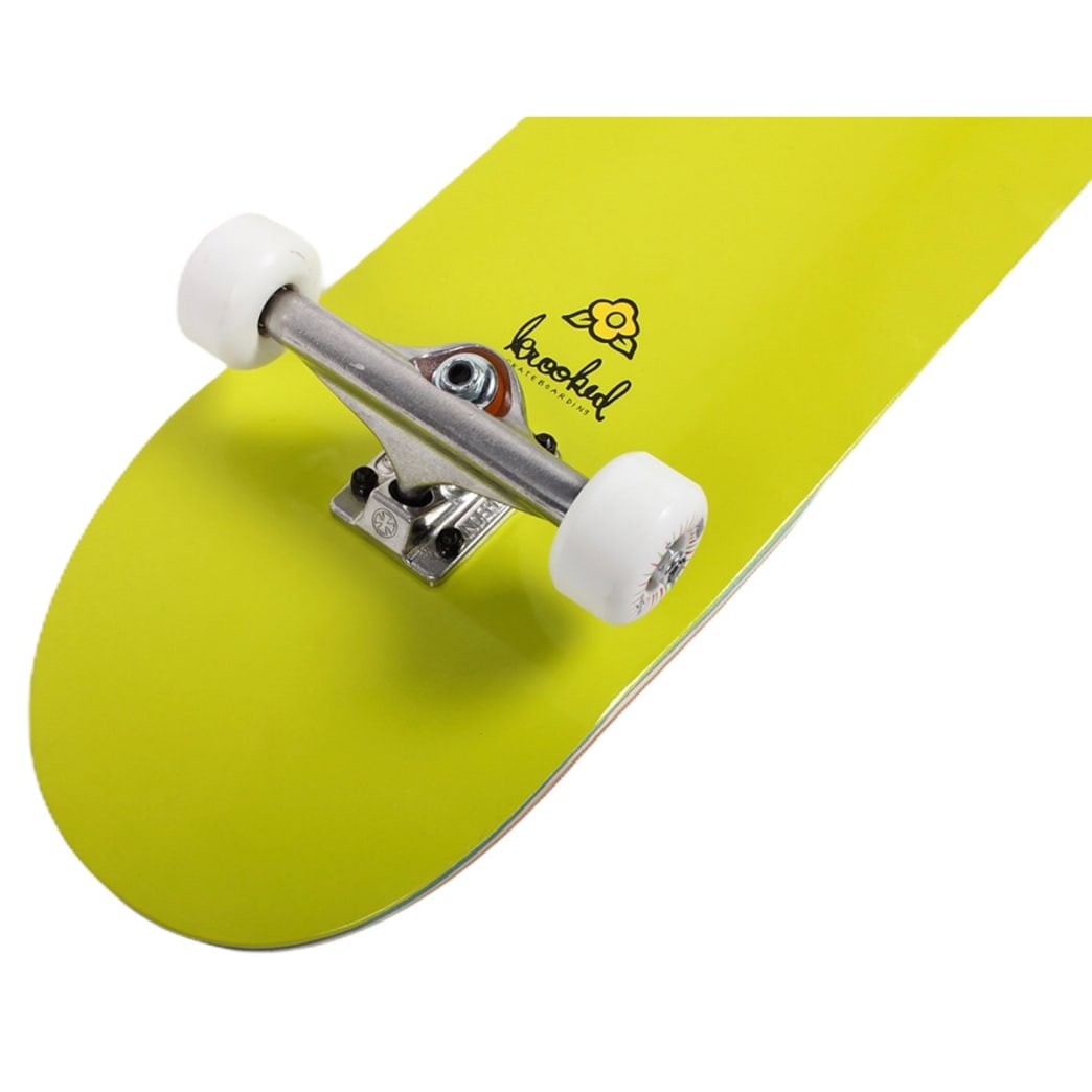 Krooked Assembled Complete Ikon Pricepoint 8.25 Green | Complete Skateboard by Krooked Skateboards 2