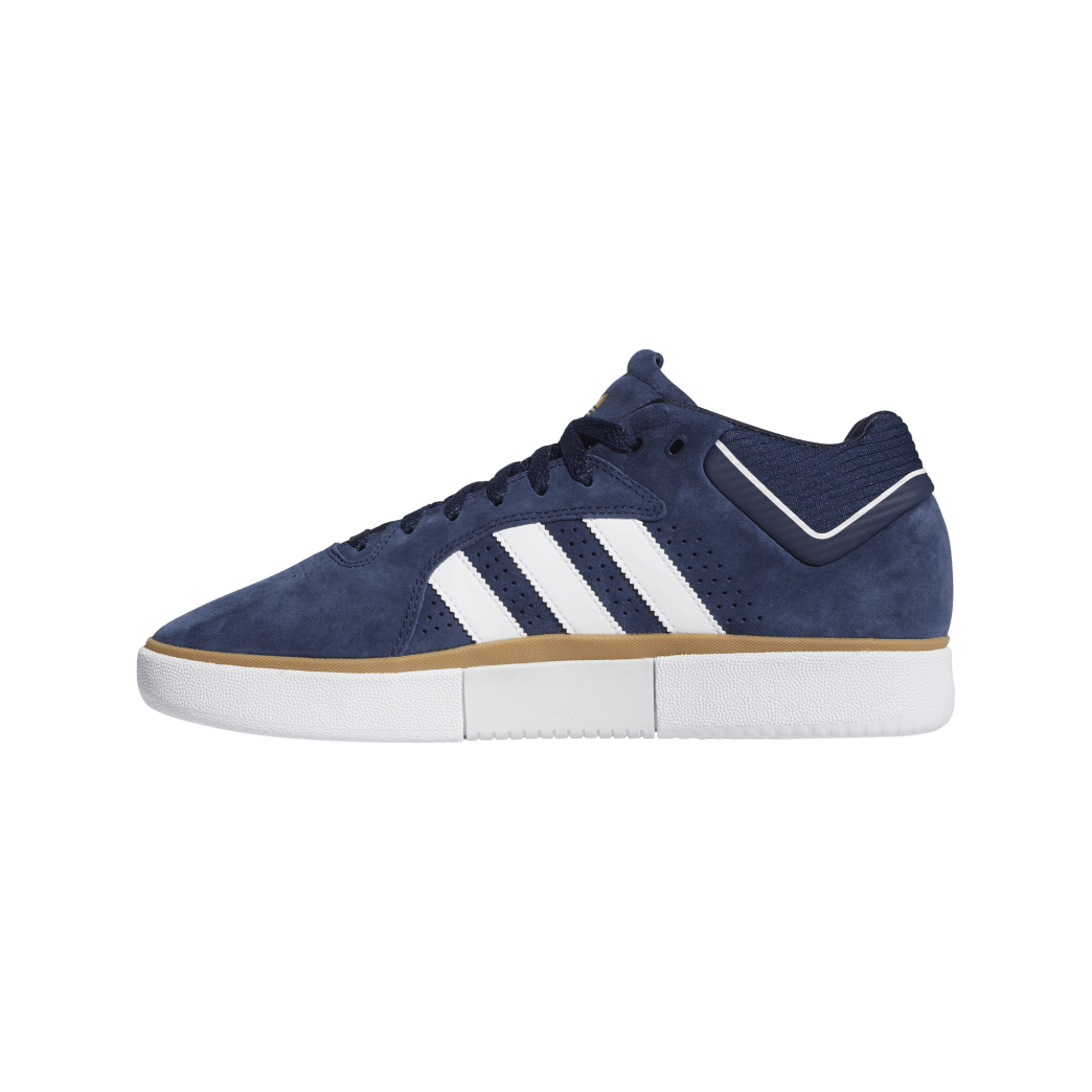 adidas Tyshawn Jones Skate Shoes - Collegiate Navy / FTWR White / Gum 4 | Shoes by adidas Skateboarding 4