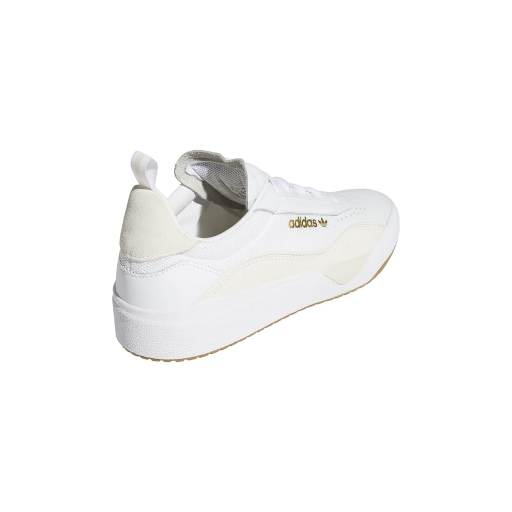 adidas Liberty Cup Skateboarding Shoe - Cloud White/Gold Metallic/Gum | Shoes by adidas Skateboarding 5