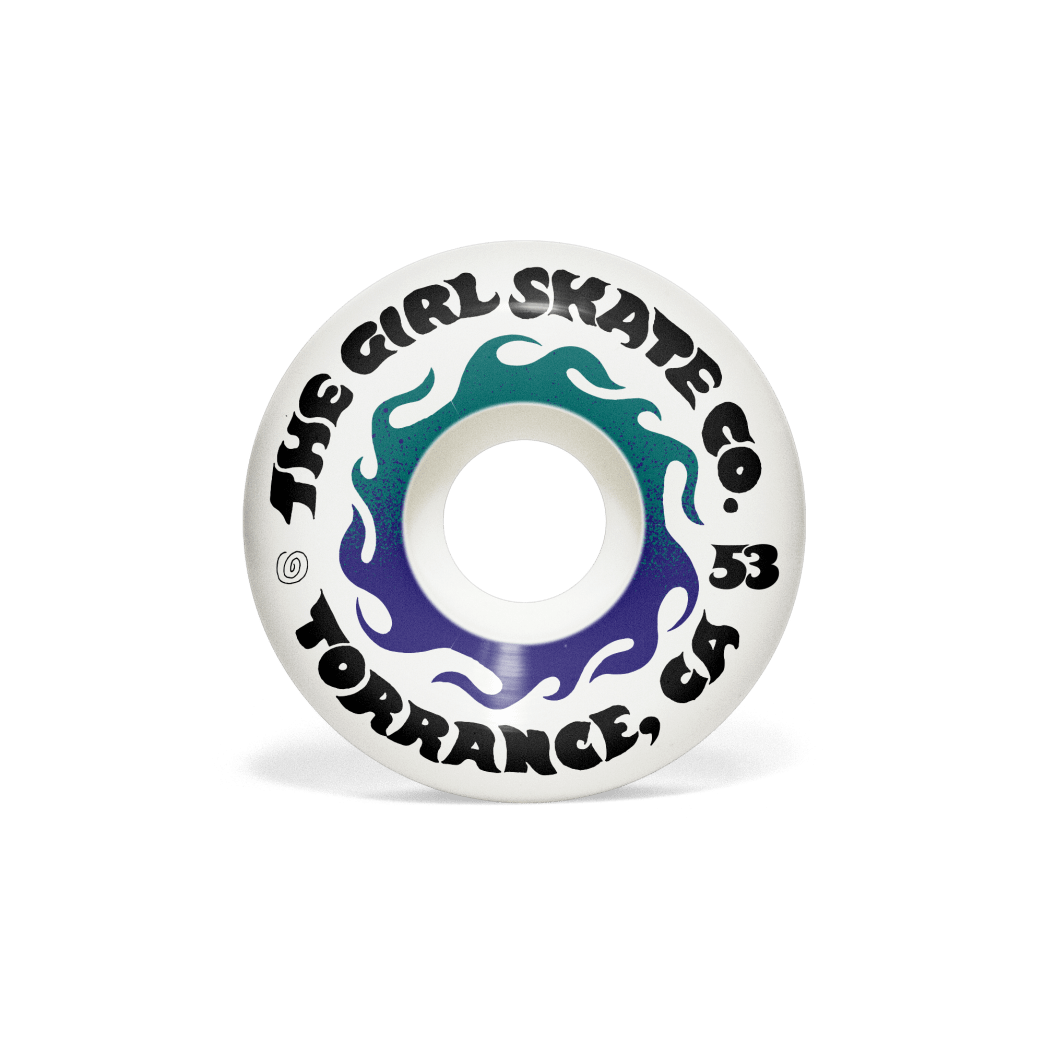 Girl GSSC Conical 99d Wheels - 53mm | Wheels by Girl Skateboards 1