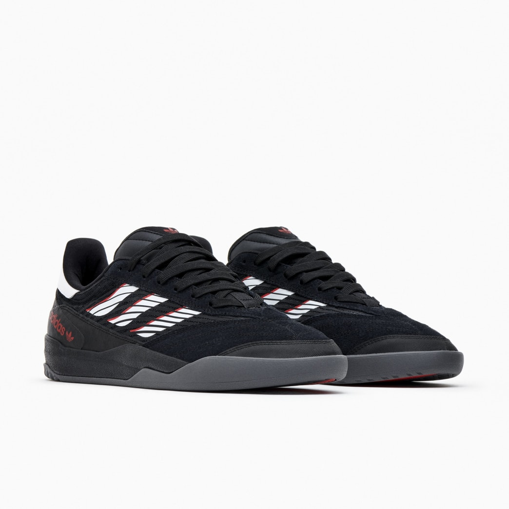 Adidas Copa Nationale Skate Shoe - Core Black / FTWR White / Scarlet | Shoes by adidas Skateboarding 2