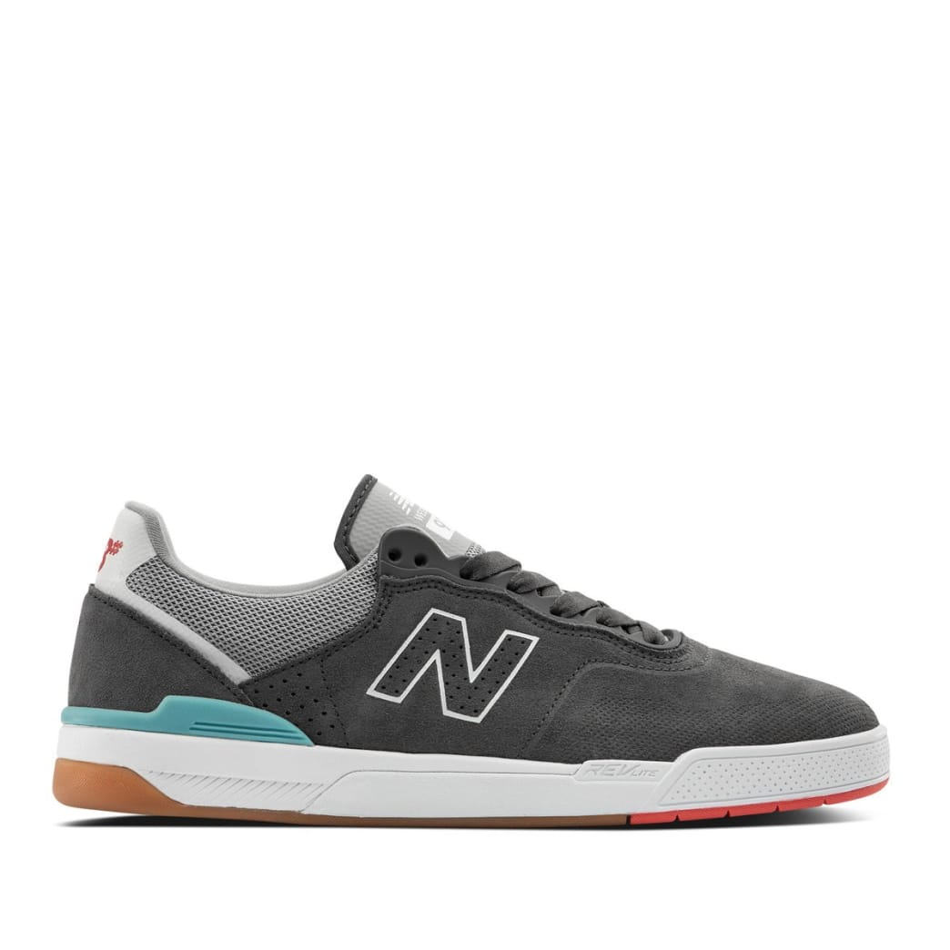 New Balance Numeric 913 Skate Shoes - Grey / White   Shoes by New Balance 1