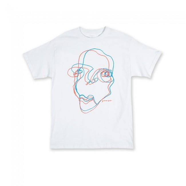 Quasi Face T-Shirt - White | T-Shirt by Quasi Skateboards 1
