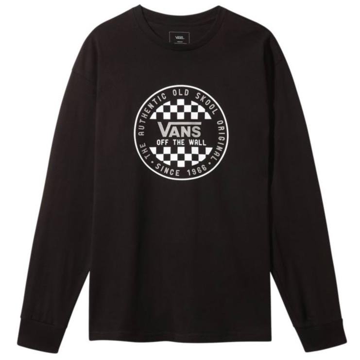 Vans - OG Checker L/S T-shirt - Black | Longsleeve by Vans 1