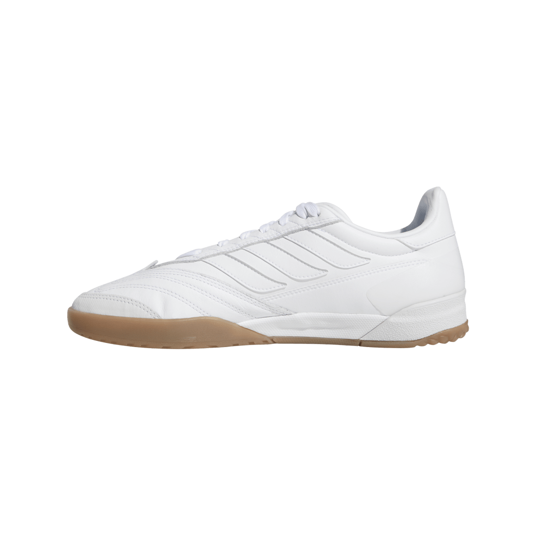 adidas Copa Nationale Skate Shoe - FTWR White / Silver Met / Gum | Shoes by adidas Skateboarding 4