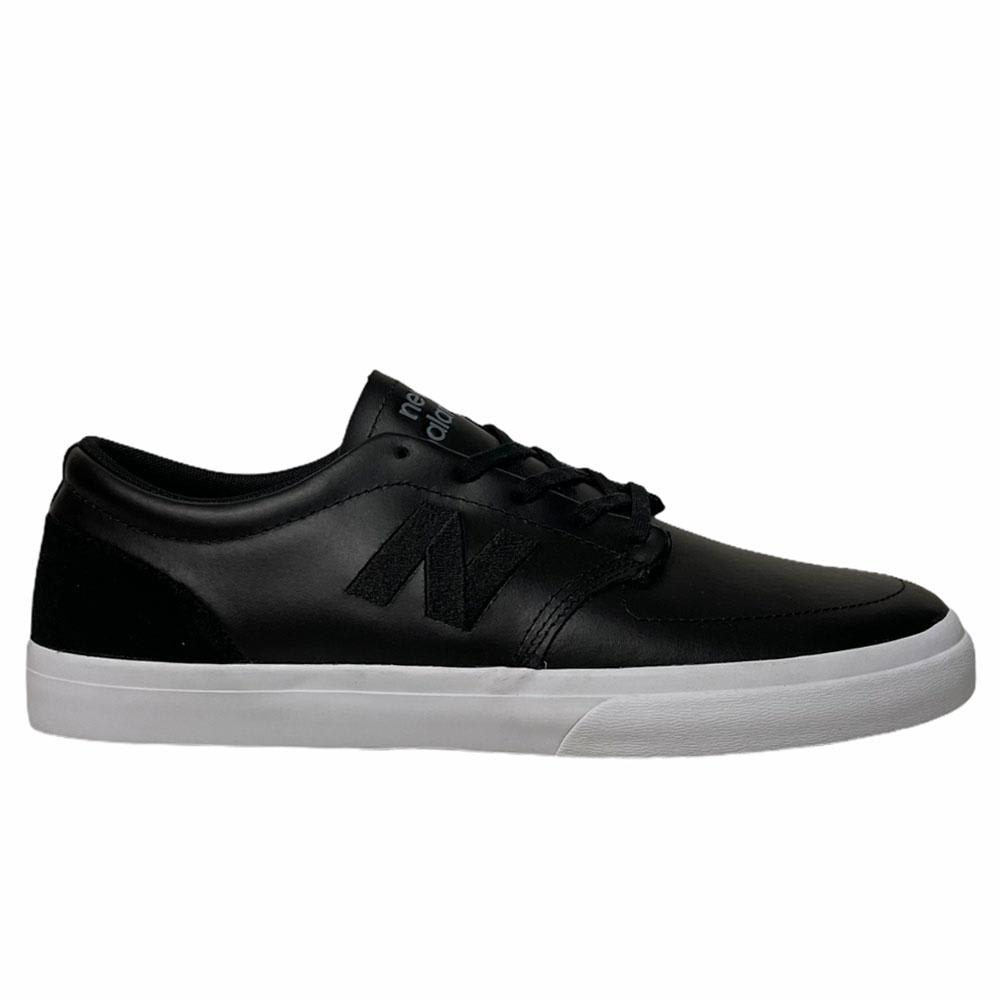 New Balance Numeric 345 Skate Shoes - Black Leather | Shoes by New Balance 1