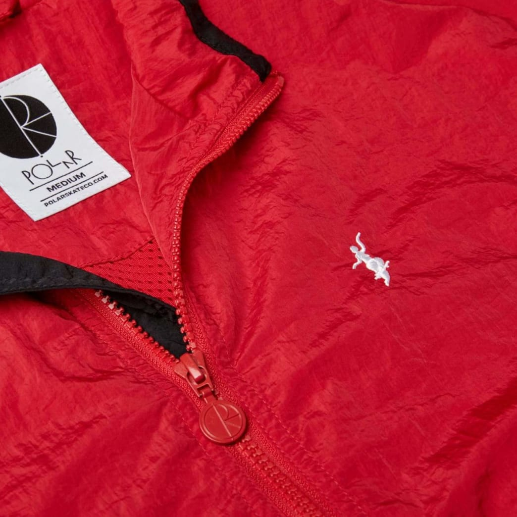 Polar Skate Co Track Jacket - Red / Black | Track Jacket by Polar Skate Co 5