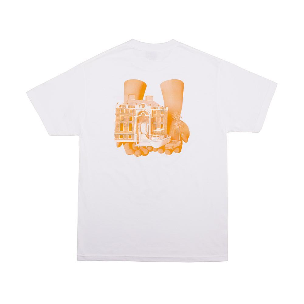 Alltimers Good Hands T-Shirt - White | T-Shirt by Alltimers 1