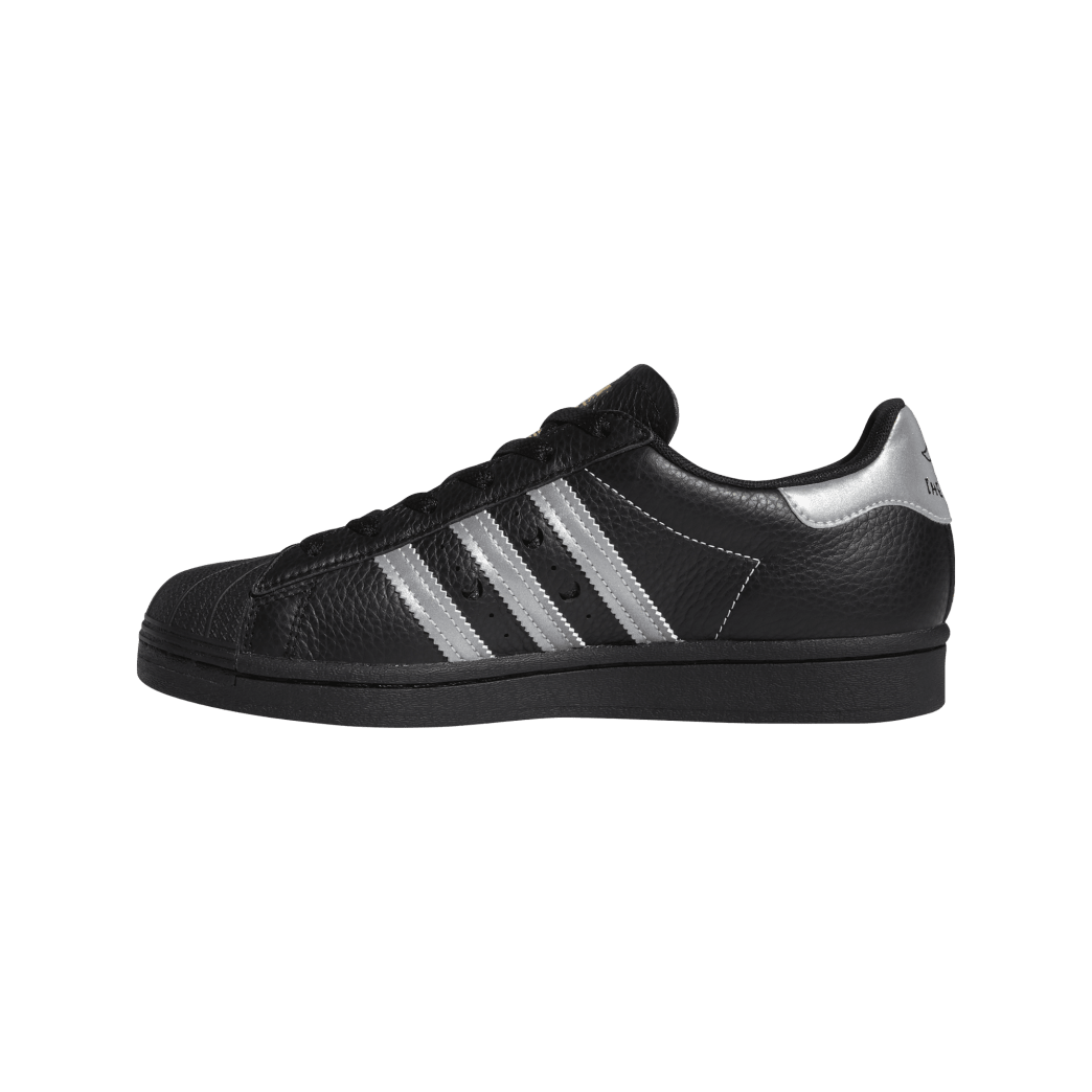 adidas Superstar ADV x Soto Skate Shoe - Core Black / Silver Met / Gold Met | Shoes by adidas Skateboarding 4