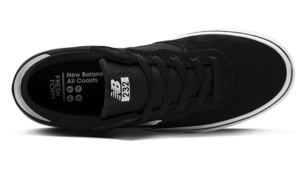 New Balance Numeric All Coasts 232 Skate Shoes - Black / White | Shoes by New Balance 3
