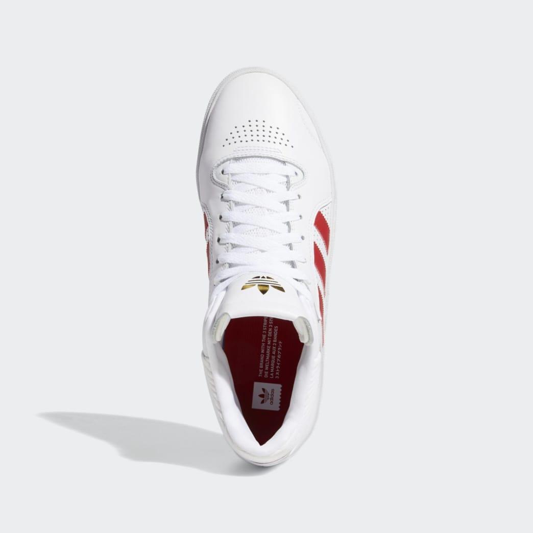 adidas Tyshawn Jones Shoes - FTWR White/Scarlett/FTWR White | Shoes by adidas Skateboarding 2