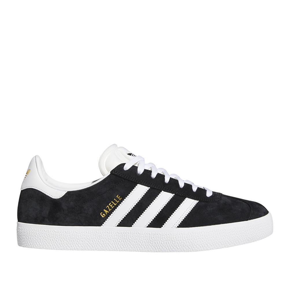 adidas Skateboarding Gazelle ADV Shoes - Core Black / FTWR White / Gold Met | Shoes by adidas Skateboarding 1
