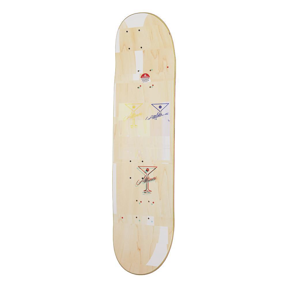 "Alltimers Glitch Natural Skateboard Deck - 8.25"" | Deck by Alltimers 2"