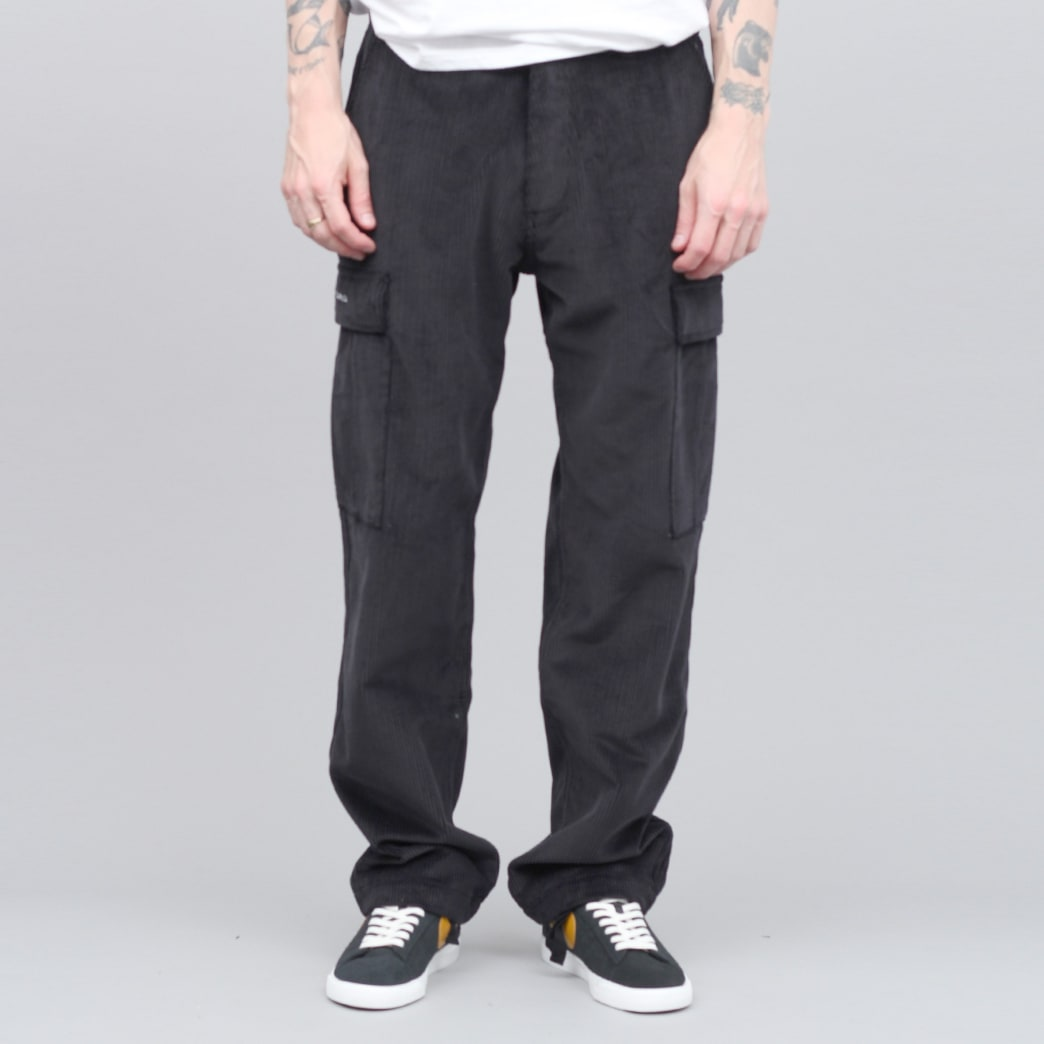 Pop Trading Cargo Pants Black Cord   Jeans by Pop Trading Company 3