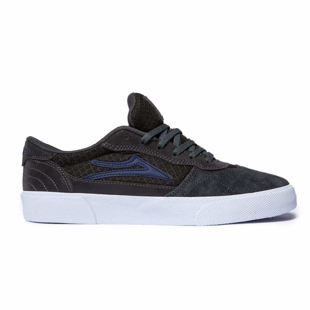 Lakai x Girl Cambridge Skate Shoe - Grey / Reflective Suede | Shoes by Lakai 1