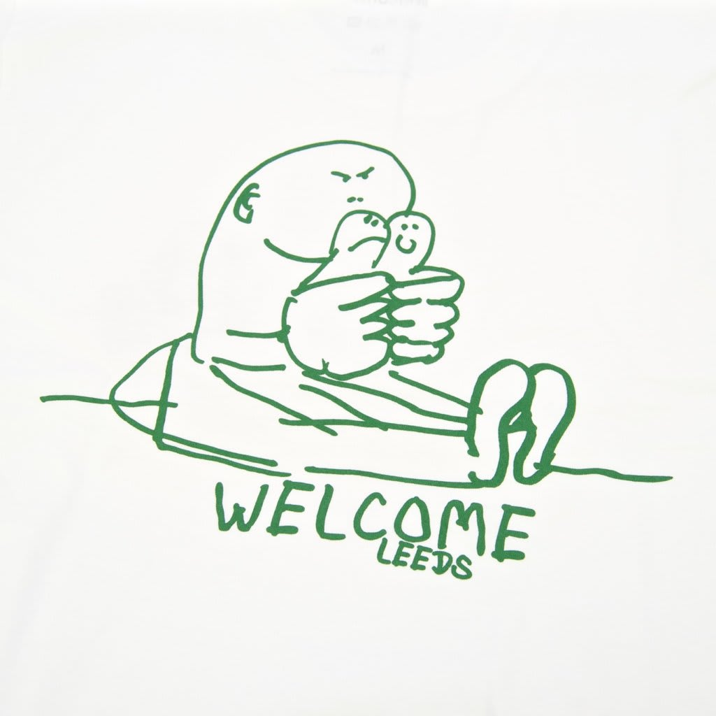 Welcome Skate Store - Gonz T-Shirt - White / Red / Forest   T-Shirt by Welcome Skate Store 4