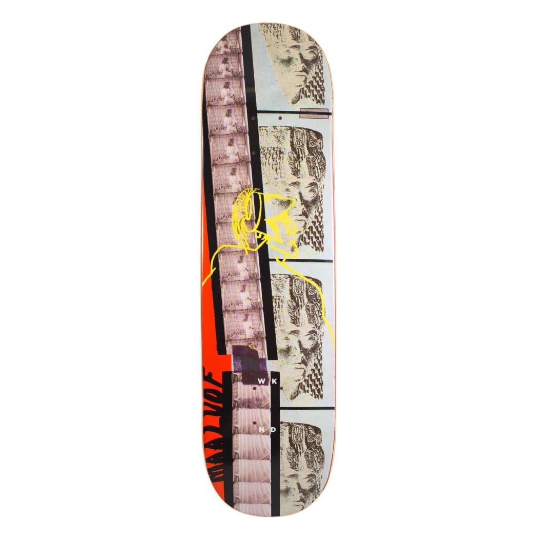 WKND Christian Maalouf Death Dance Skateboard Deck - 8.5"