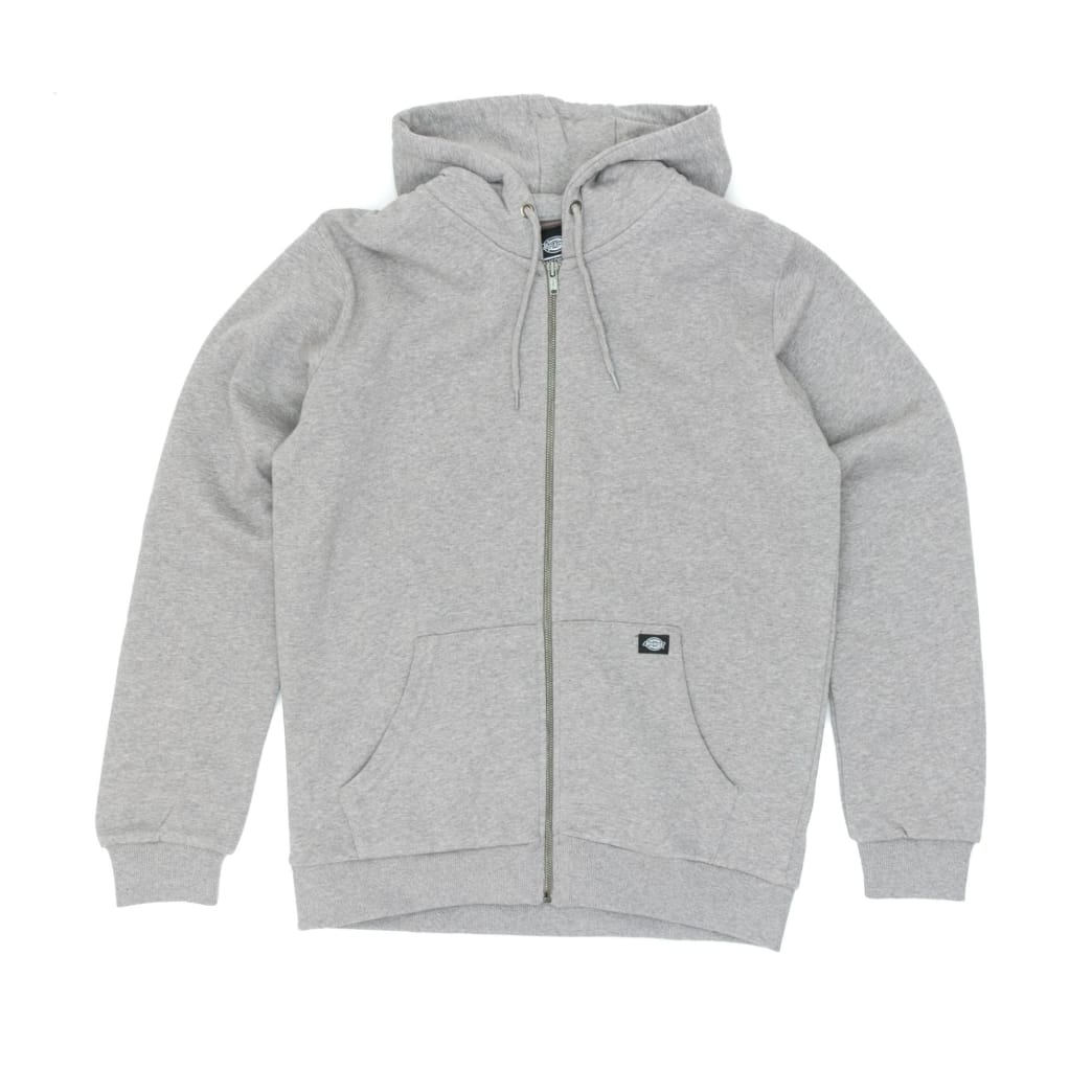 9951e4af7370f1 Dickies Kingsley Zip Hooded Sweatshirt - Grey Melange   Sweatshirt by  Dickies 1