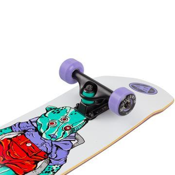 Welcome Nora Vasconcellos Teddy Complete 7.75 White | Complete Skateboard by Welcome Skateboards 2